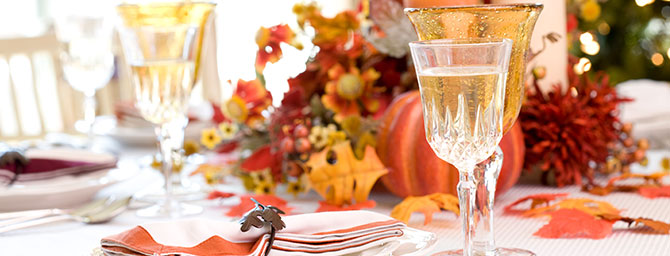 Warmest Thanksgiving Wishes From Creekside Inn Palo Alto, California