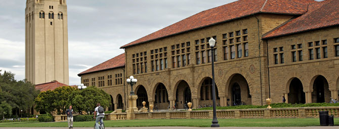 Stanford University in Palo Alto, California