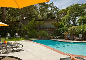 Creekside Inn Hotel Pool, California