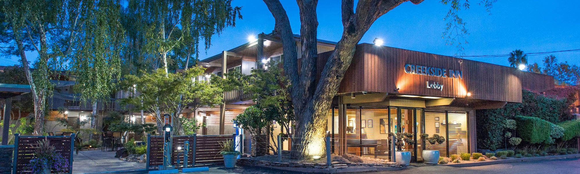 Packages offered by Creekside Inn, Palo Alto