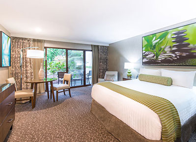 Deluxe Room at Creekside Inn - A Greystone Hotel, California